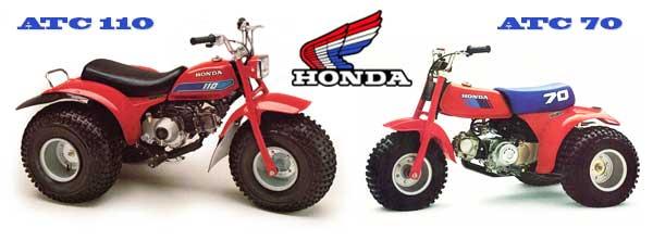 Honda ATC 110 & 70