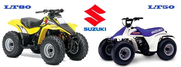 Suzuki LT80 & LT50